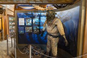 日本环球影城大白鲨潜水员