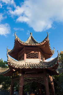 中国传统建筑亭子