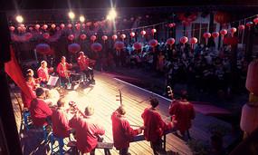 农村舞台表演