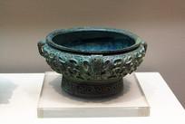 西周龟纹青铜盂