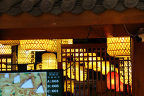 古风工艺室内装饰灯笼