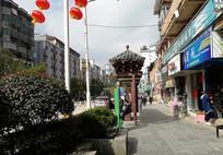 黎平侗乡特色公交站台侧面