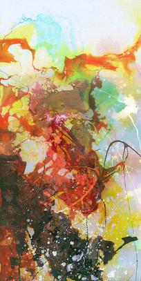 现代艺术壁画抽象画