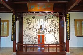西泠印社吴昌硕纪念室雕塑