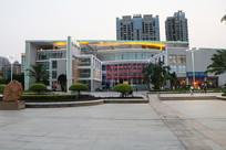 茂名地标建筑文化广场图书馆