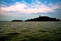 太湖三山岛佛塔