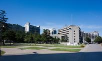 美丽的北京师范大学校园风光