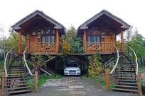 莫干山旅游景区乡村民宿木屋
