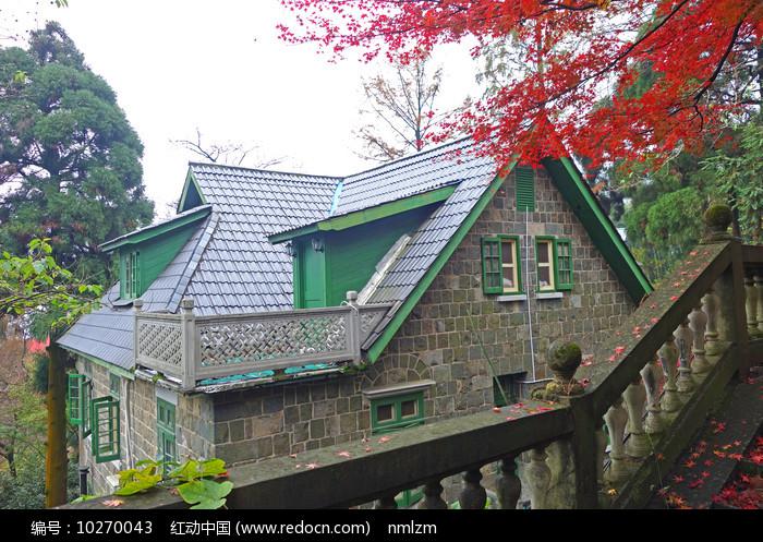 莫干山石头房森林别墅 图片