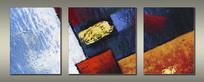 现代装饰色块抽象油画