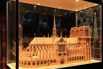 巴黎圣母院建筑模型