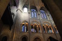 巴黎圣母院建筑内景