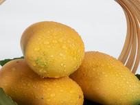 新鲜水果芒果摄影图