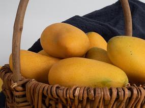 营养水果芒果特写