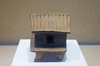 西汉原始瓷房子