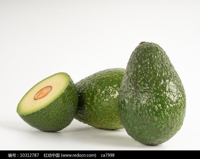 新鲜绿色鳄梨图片图片