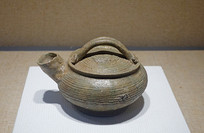 西周原始瓷提梁小壶