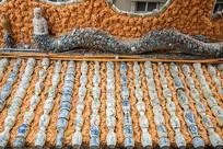 中国天津瓷房子有规则的瓷器