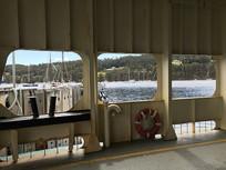 布鲁尼岛汽车轮渡船