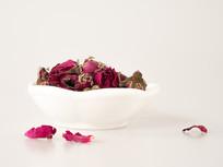 玫瑰花茶摄影