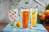香水柠檬绿、红茶
