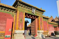 北京故宫大门