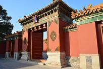 北京故宫护院大门