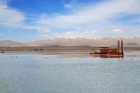 高原湖泊疏浚船