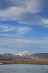 青藏高原茶卡盐湖
