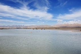 青海茶卡盐湖高原湖泊