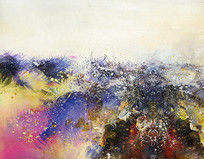 意境山水抽象油画