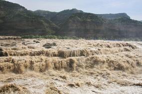 壺口瀑布黃河激流