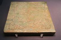 绿釉瓷砖耶律羽墓