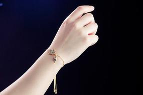 可爱小人手链拍摄