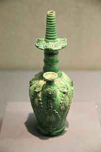 绿釉净瓶辽代