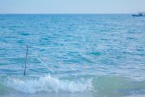 大海里的渔网