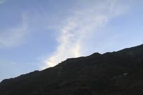 怒江风光之蓝天白云