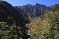 滴水河风光之大山河谷