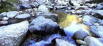 滴水河风光之乱石细流