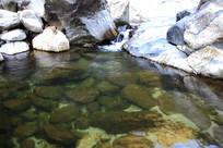 滴水河风光之清澈池塘
