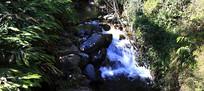 滴水河风光之溪流如瀑