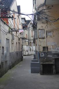 老上海弄堂素材