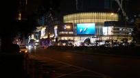 城市商场夜景