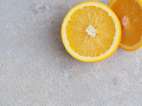 切開的檸檬