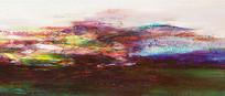 抽象山水风水壁画
