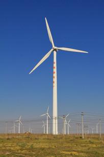 大风车风力发电