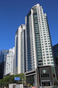 北京长安街上的高楼大厦