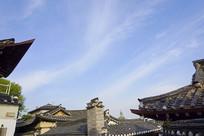 韩国北村韩屋村传统老房子