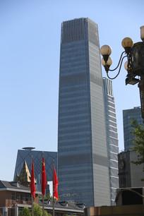 北京新国贸饭店大厦局部特写