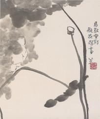 朱耷水墨画